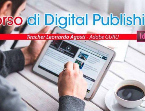 Corso di Digital Publishing, venerdì 8 settembre.