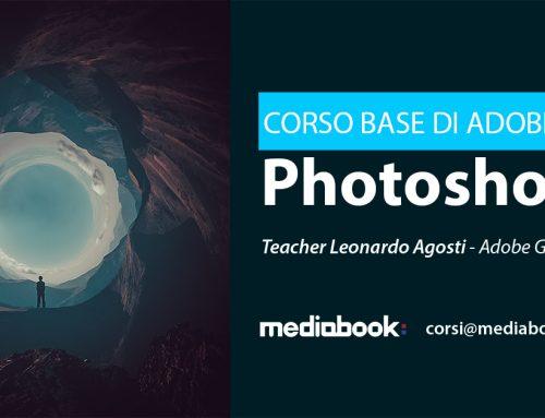 Corso base di Adobe Photoshop, nuova classe a Novembre.