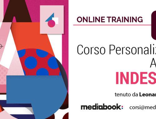Corso di Adobe InDesign, personalizzato e online