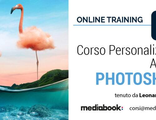 Corso di Adobe Photoshop, personalizzato e online
